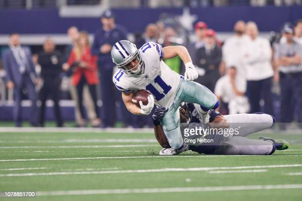 NFC Playoffs Dallas Cowboys Cole Beasley in action vs Seattle Seahawks at ATT Stadium Arlington TX CREDIT Greg Nelson