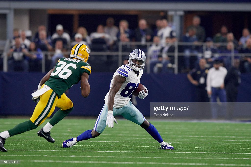Dallas Cowboys Dez Bryant In Acton Vs Green Bay Packers At