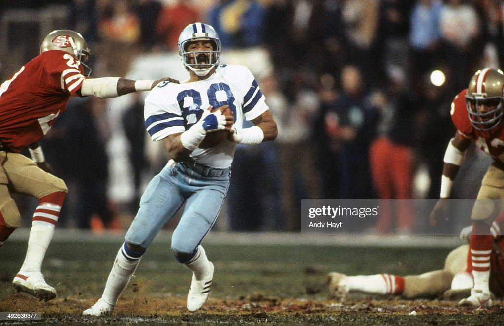 NFC Playoffs Dallas Cowboys Drew Pearson in action vs San Francisco 49ers at Candlestick Park San Francisco CA CREDIT Andy Hayt