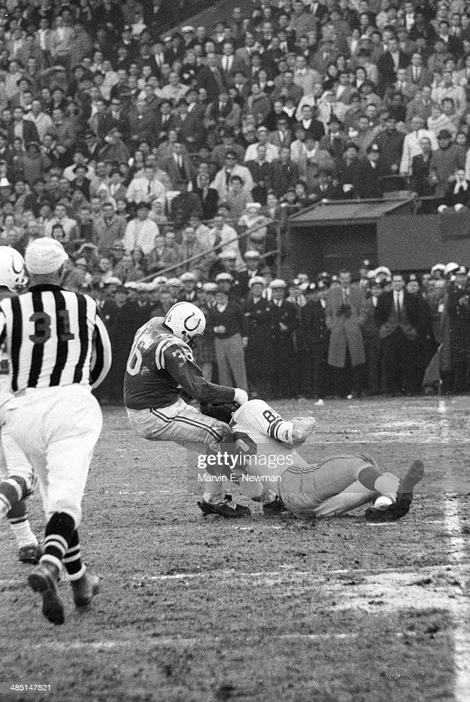 Baltimore Colts vs New York Giants, 1959 NFL Championship