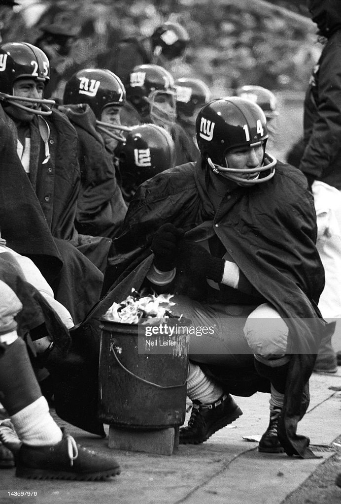 Y.A Color Tittle New York Giants Up Close