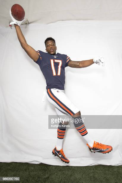 NFLPA Rookie Premiere Portrait of Chicago Bears wide receiver Anthony Miller posing during photo shoot at California Lutheran University Thousand...