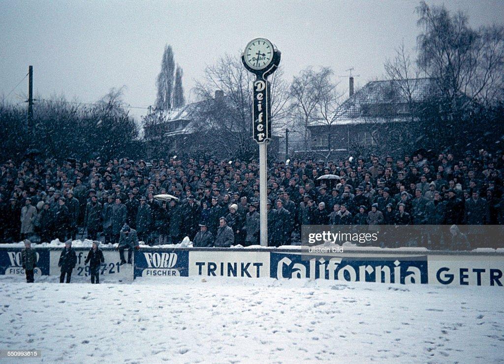 Football, Oberliga West, 1962/1963, Stadium Uhlenkrug, ETB Schwarz Weiss  Essen