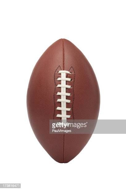 football on white with clipping path