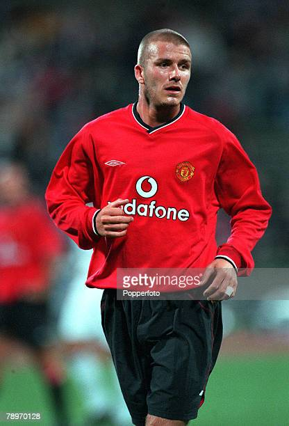 Football Opel Masters 2000 Tournament Munich Germany Real Madrid 0 v Manchester United 14th August 2000 David Beckham Manchester United