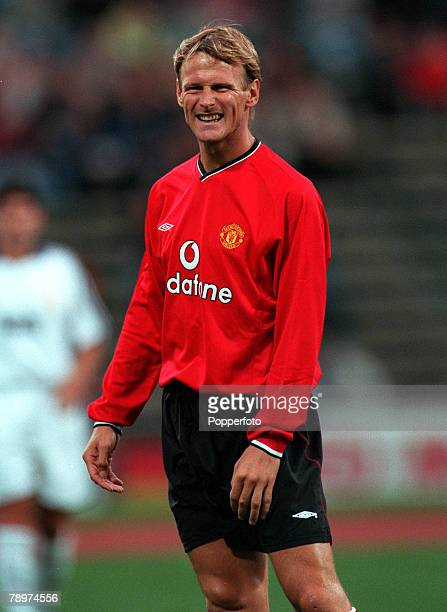 Football Opel Masters 2000 Tournament Munich Germany Real Madrid 0 v Manchester United 14th August 2000 Teddy Sheringham Manchester United