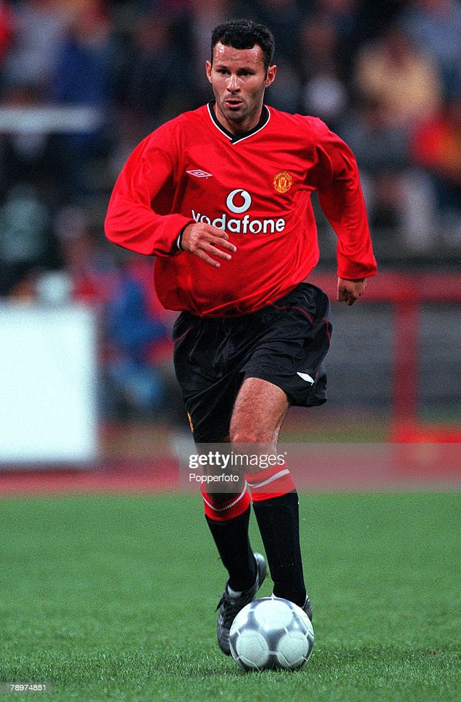 Football. Opel Masters 2000 Tournament. Munich, Germany. Real Madrid 0 v Manchester United 1.4th August 2000. Ryan Giggs, Manchester United. : News Photo