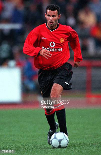 Football Opel Masters 2000 Tournament Munich Germany Real Madrid 0 v Manchester United 14th August 2000 Ryan Giggs Manchester United