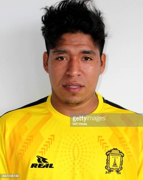 Football Peruvian League Descentralizado 'nMovistar Trophy 2016 Abertura Tournament / 'nClub Ayacucho FC Ayacucho 'nWillyan MimbelaCaceres