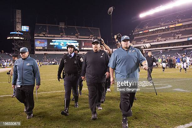 Philadelphia Eagles head coach Andy Reid walking off field after game vs Dallas Cowboys at Lincoln Financial Field Philadelphia PA CREDIT David...