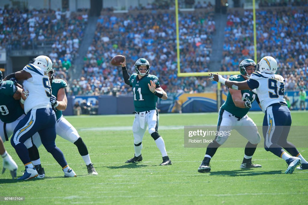 Los Angeles Chargers vs Philadelphia Eagles : Nachrichtenfoto