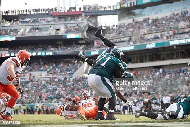 Philadelphia Eagles Ryan Mathews in action rushing vs Cleveland Browns at Lincoln Financial Field Philadelphia PA CREDIT Michael J LeBrecht II