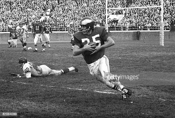 Philadelphia Eagles Tommy McDonald in action vs New York Giants Bronx NY CREDIT Hy Peskin