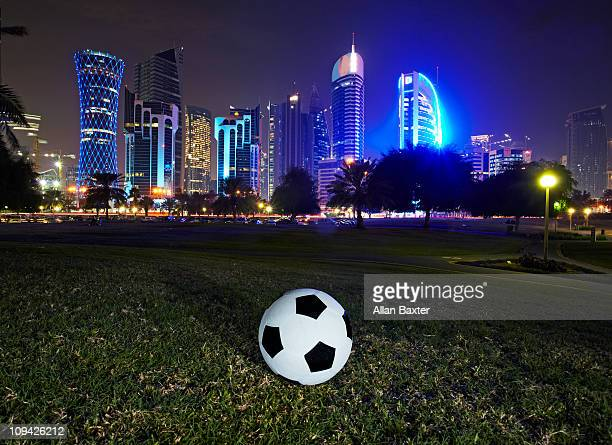 football - qatar stock pictures, royalty-free photos & images