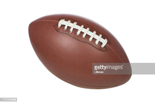 football (clipping path) - football league stock pictures, royalty-free photos & images