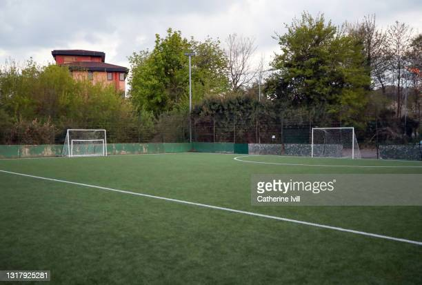 football pitch - training grounds stock pictures, royalty-free photos & images