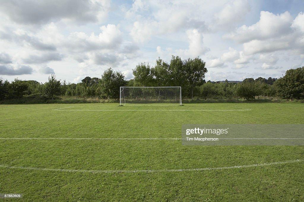 Football pitch : Stock Photo