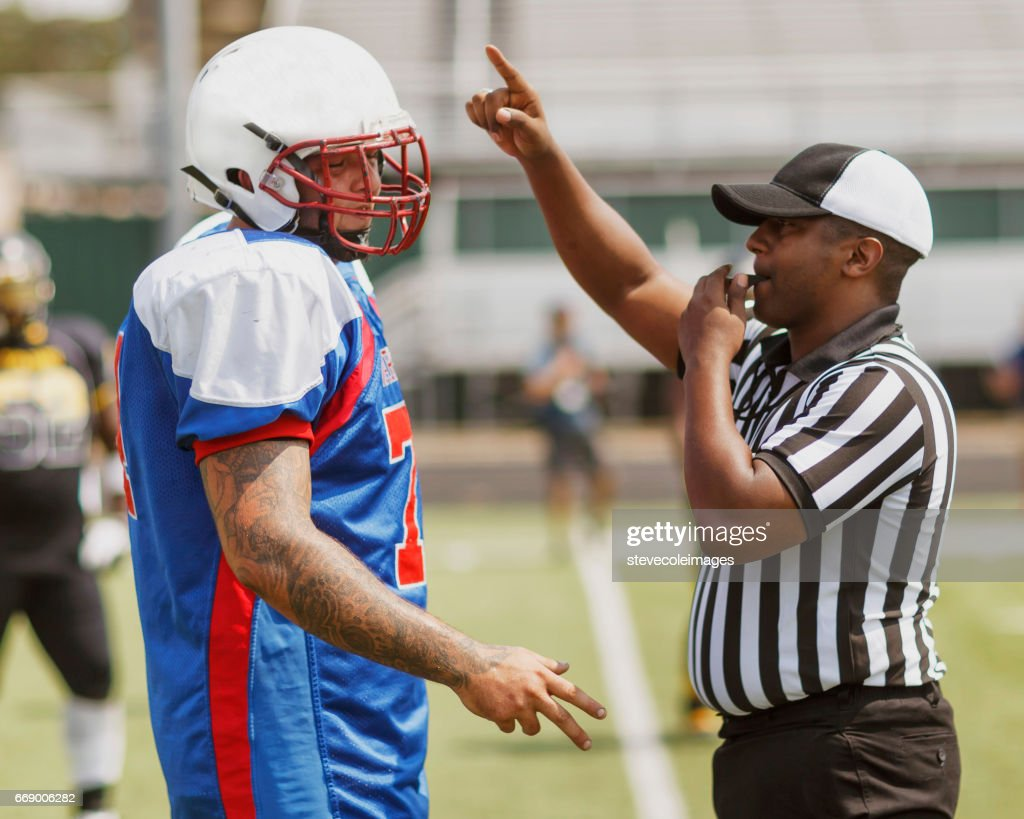 Football Planer and Ref : Stock Photo