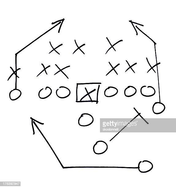 football play - diagram stock pictures, royalty-free photos & images
