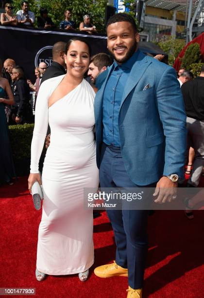 Football player Aaron Donald attends the The 2018 ESPYS at Microsoft Theater on July 18 2018 in Los Angeles California