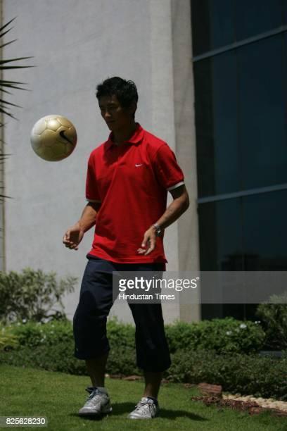 Football player Bhaichung Bhutia