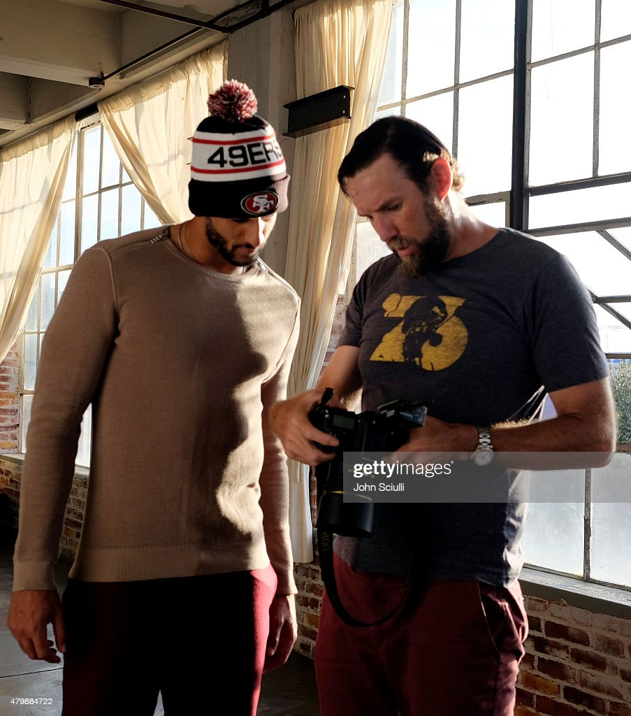 """Colin Kaepernick And New Era """"This is the Cap"""" Fall Campaign Shoot : ニュース写真"""