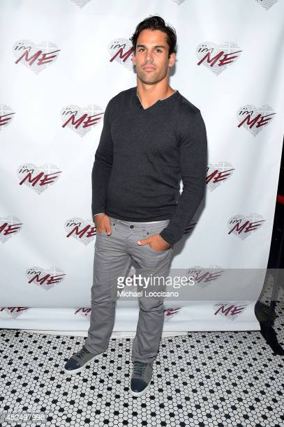 Football player Eric Decker attends NY Jets Wide Receiver David Nelson Kicks Off The NYC Launch of i'mME on July 21 2014 in New York City