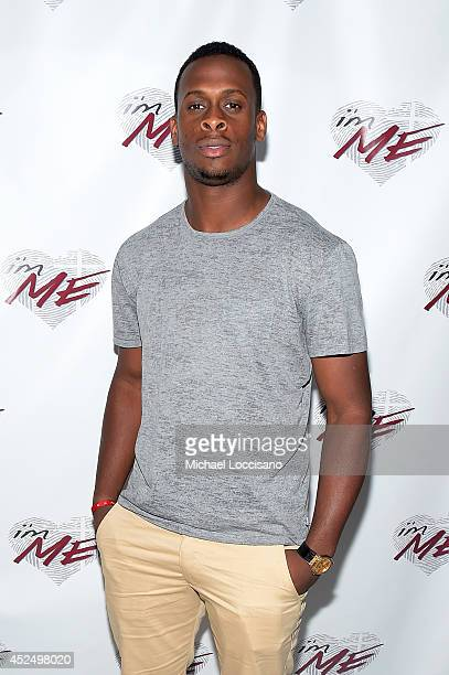 Football player Geno Smith attends NY Jets Wide Receiver David Nelson Kicks Off The NYC Launch of i'mME on July 21 2014 in New York City