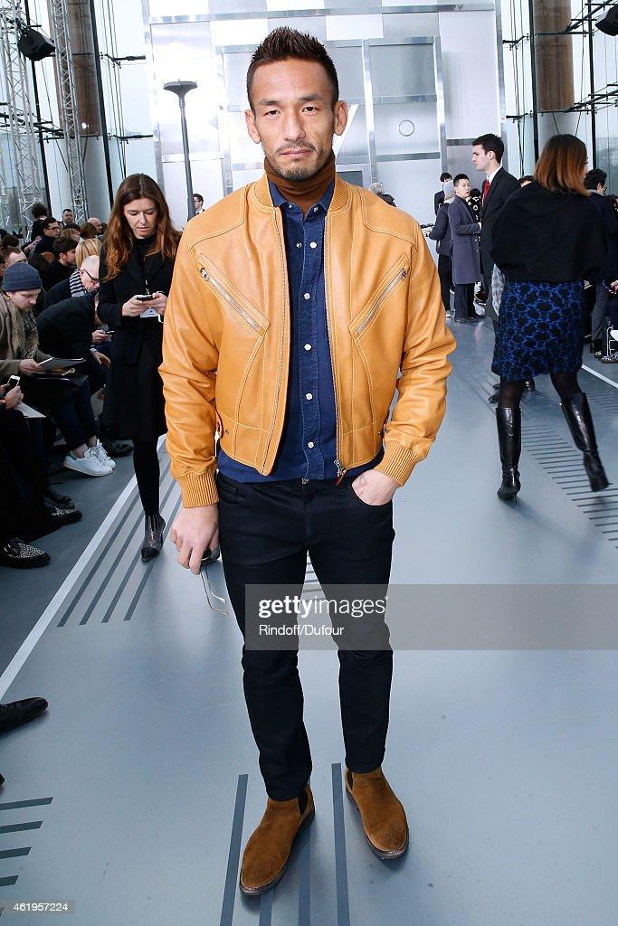 Louis Vuitton : Front Row - Paris Fashion Week - Menswear F/W 2015-2016