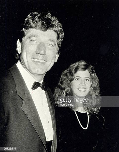 Football player Joe Namath and wife Deborah Mays attending Second Annual Commitment to Life Benefiting AIDS Project Los Angeles on September 20 1986...