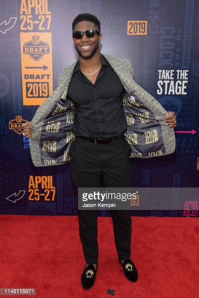 Football player Josh Allen attends the 2019 NFL Draft on April 25 2019 in Nashville Tennessee