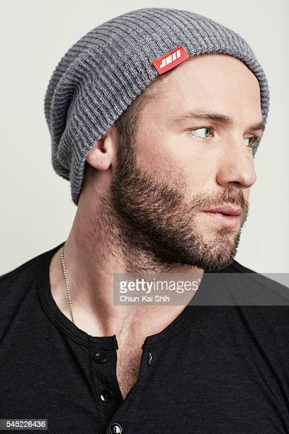 Football player Julian Edelman is photographed for August Man on May 4 2016 in Los Angeles California PUBLISHED IMAGE