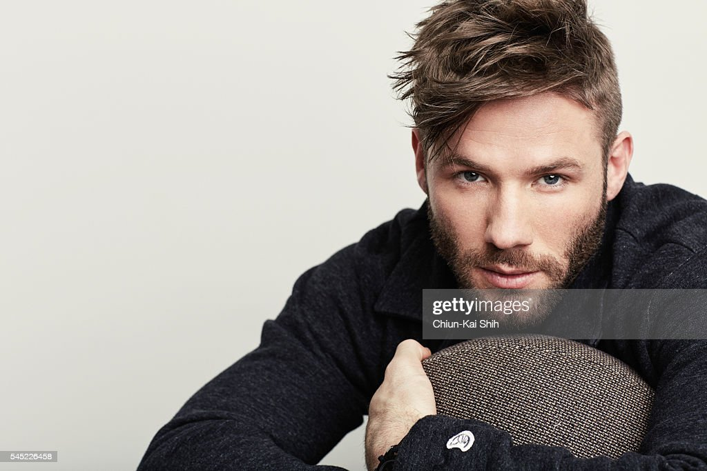 Football player Julian Edelman is photographed for August Man on May 4, 2016 in Los Angeles, California.