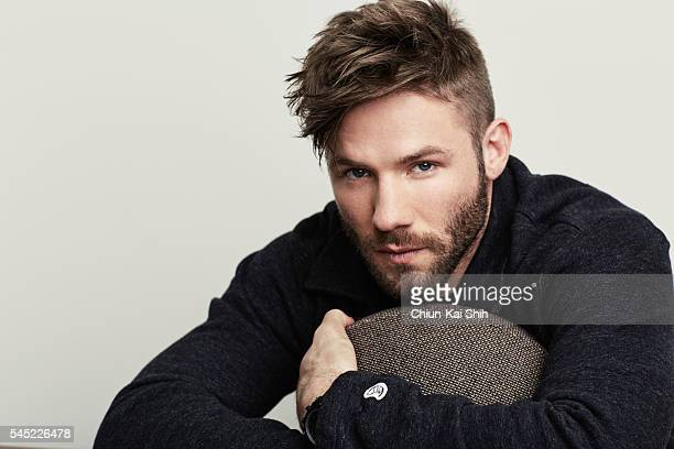 Football player Julian Edelman is photographed for August Man on May 4 2016 in Los Angeles California
