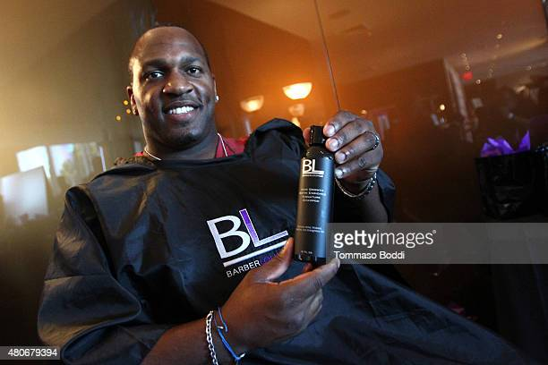 Football player Kirk Morrison attends the GBK PreESPY lounge held at the Andaz Hotel on July 13 2015 in Los Angeles California