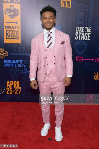 Football player Kyler Murray attends the 2019 NFL Draft on April 25, 2019 in Nashville, Tennessee.