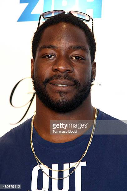 Football player Lamarr Houston attends the GBK PreESPY lounge held at the Andaz Hotel on July 13 2015 in Los Angeles California