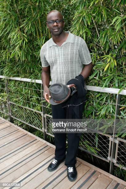 Football Player Lilian Thuram attends the 2017 French Tennis Open Day Four at Roland Garros on May 31 2017 in Paris France