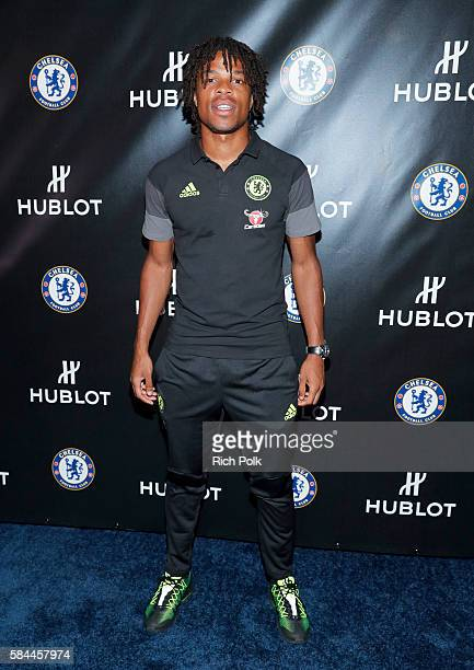 Football Player Loïc Rémy attends Hublot x Chelsea FC event in Los Angeles at Sony Pictures Studios on July 28 2016 in Culver City California