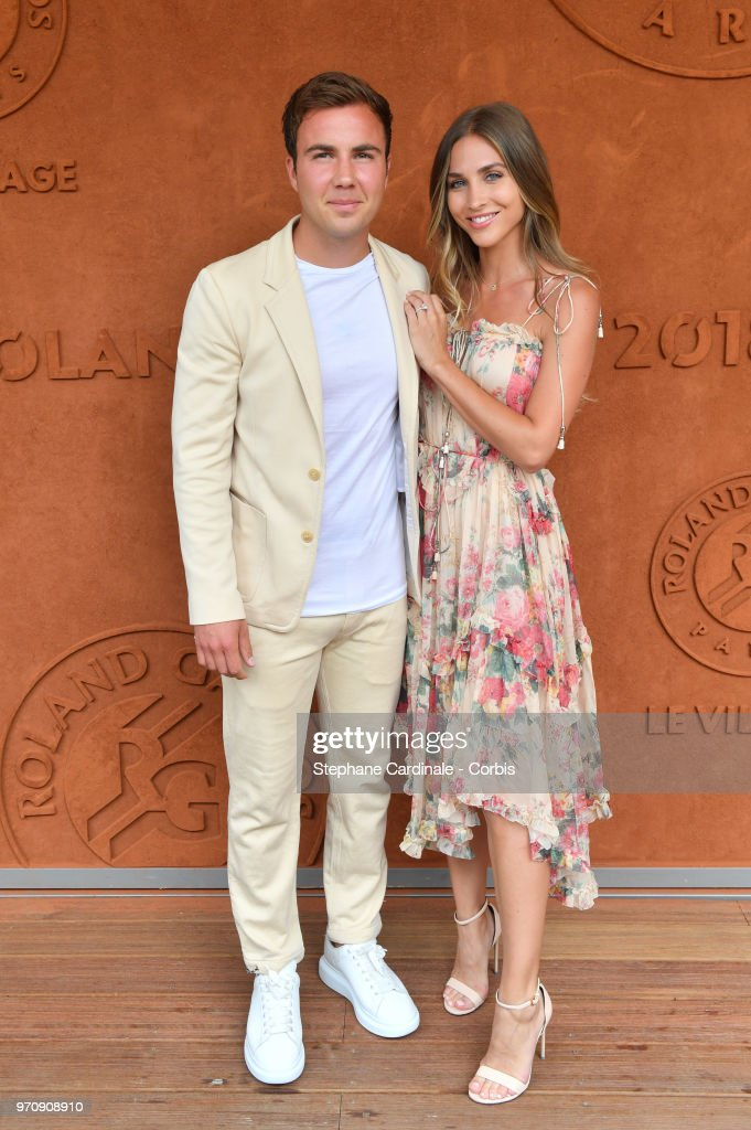 Celebrities At 2018 French Open : Day Fifteen : News Photo