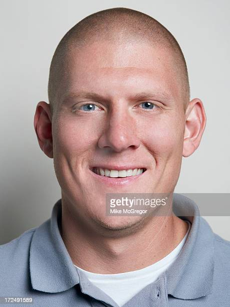 Football player Nick Folk is photographed for Self Assignment on September 11 2012 in New York City