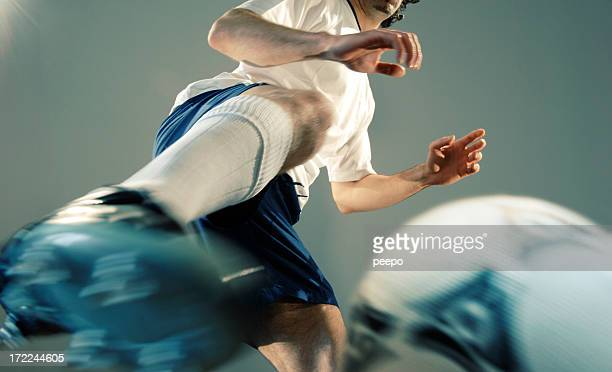 football player - shootout stock pictures, royalty-free photos & images