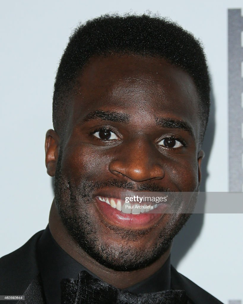 Football Player Prince Kelechi Amukamara attends the 65th annual ACE Eddie Awards at The Beverly Hilton Hotel on January 30, 2015 in Beverly Hills, California.