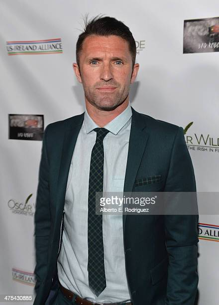 Football Player Robbie Keane attends the 9th Annual 'Oscar Wilde Honoring The Irish In Film' PreAcademy Awards event at Bad Robot on February 27 2014...