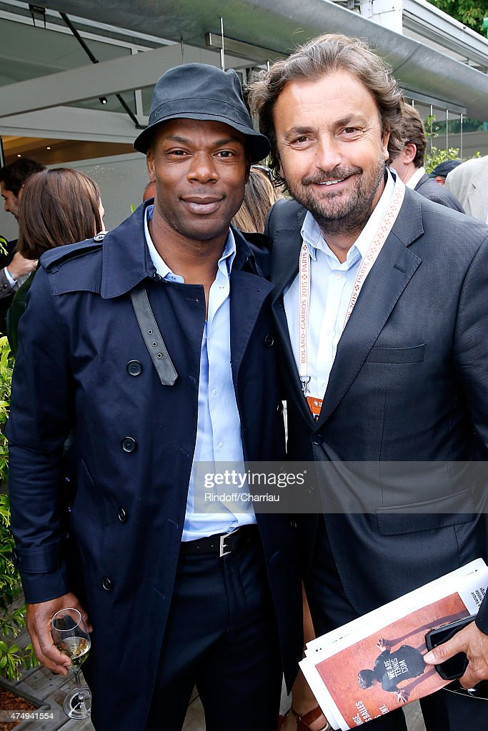 Celebrities At French Open 2015  - Day Five : News Photo