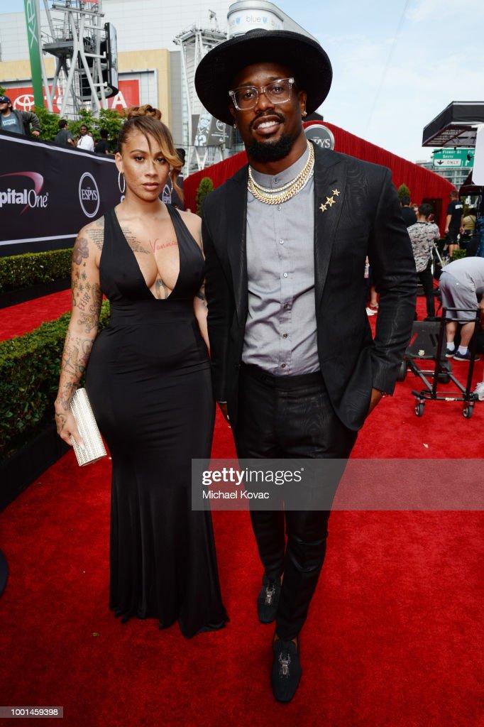 2018 ESPY Awards Red Carpet Show Live! Celebrates With Moet & Chandon : News Photo