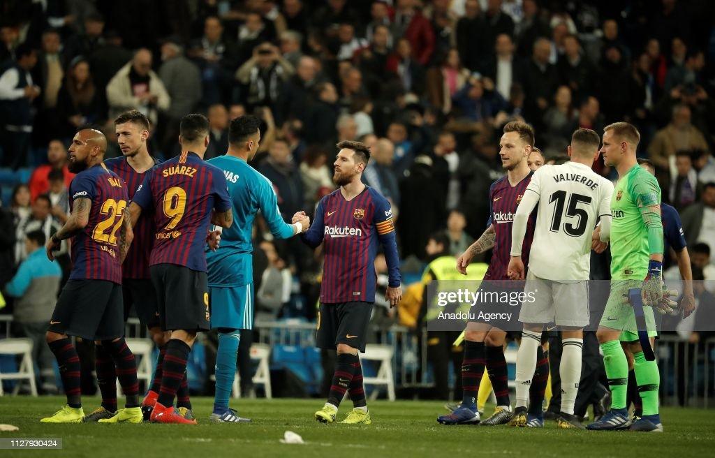 Real Madrid v Barcelona: Copa del Rey : ニュース写真