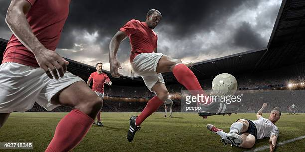 football players - team sport stock pictures, royalty-free photos & images