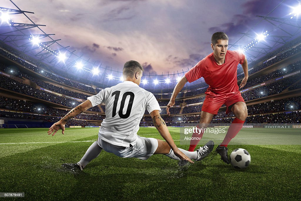 Football players : Stock Photo