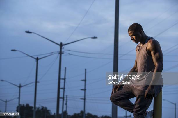 Portrait of Cleveland Browns wide receiver Josh Gordon posing during photo shoot Gordon has been reinstated from an indefinite suspension stemming...